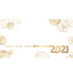 2021 golden salute design design vector image