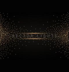christmas shining bokeh vector image