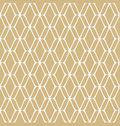golden mesh seamless pattern luxury texture vector image