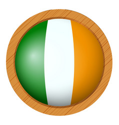Icon design for flag of ireland vector