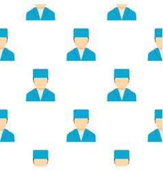 Plastic surgeon pattern seamless vector