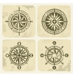 Vintage compasses vector