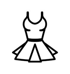 women underwear icon vector image