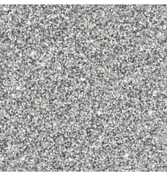 Silver glitter texture vector image vector image