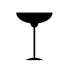 Alcohol drink glassware bar concept vector