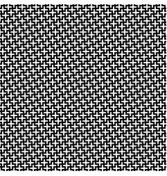 Black white geometric interlocking shapes vector