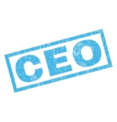 Ceo Rubber Stamp vector