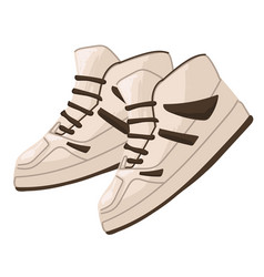 Fashion 2000s stylish sneakers for men vector