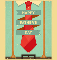 fathers day card vector image