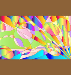 Gradient modern motley colored background cute vector