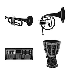 music and tune symbol vector image