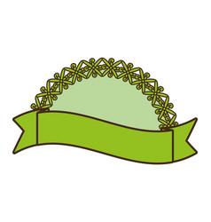 Organic label emblem template image vector