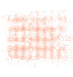 Peach grunge background of intersecting stripes vector