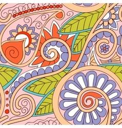 Tribal ethnic background vector image