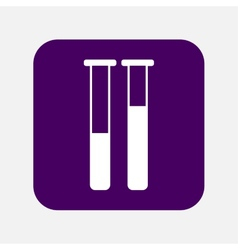 tubes icon vector image