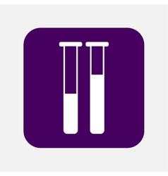 Tubes icon vector