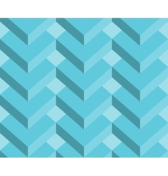 Abstract 3d geometric seamless pattern background vector image