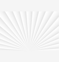Abstract layered white color background light vector