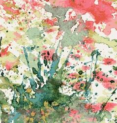 Abstract watercolor vector