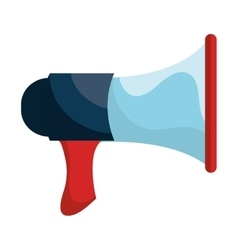 Bullhorn or megaphone isolated icon vector image