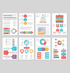 design project business annual report vector image