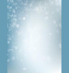 festive winter blurred background eps 10 vector image