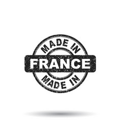 made in france stamp on white background vector image