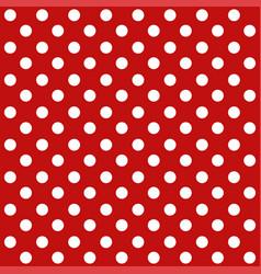 polka dot seamless retro pattern vector image