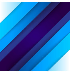 Abstract blue triangle shapes background vector image
