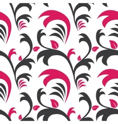 Seamless floral pattern Decoration background vector image vector image