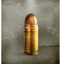 Bullet old style vector image
