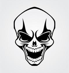 Skull Tribal vector image