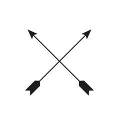 The arrow icon Arrows symbol Flat vector image