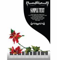 white piano vector image