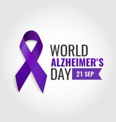 Alzheimers day vector