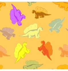 Funny dinosaur for kids vector image