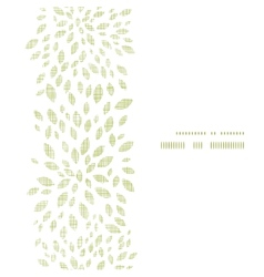 green leaves explosion textile texture vertical vector image