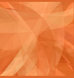 Orange abstract background from dynamic curves vector