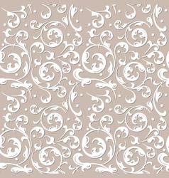 Pattern of decorative ornament vector