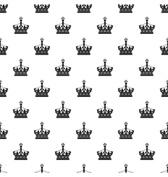 Royal crown pattern simple style vector