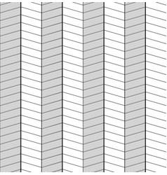 seamless black and white herringbone texture vector image