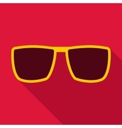 Sunglasses icon flat style vector