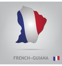 french-guiana vector image