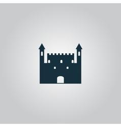 Castle Icon vector image vector image