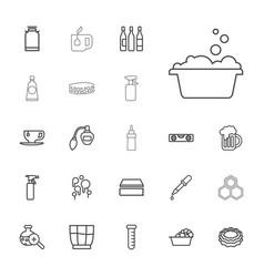 22 liquid icons vector