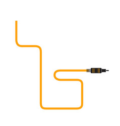 cable icon vector image