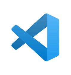 Emblem popular code editor vector