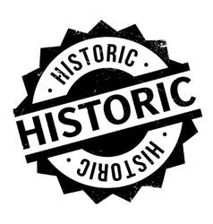 Historic rubber stamp vector image