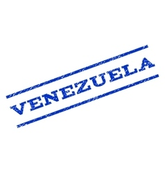 Venezuela watermark stamp vector
