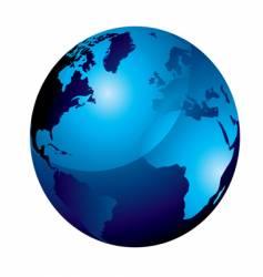 gel globe vector image